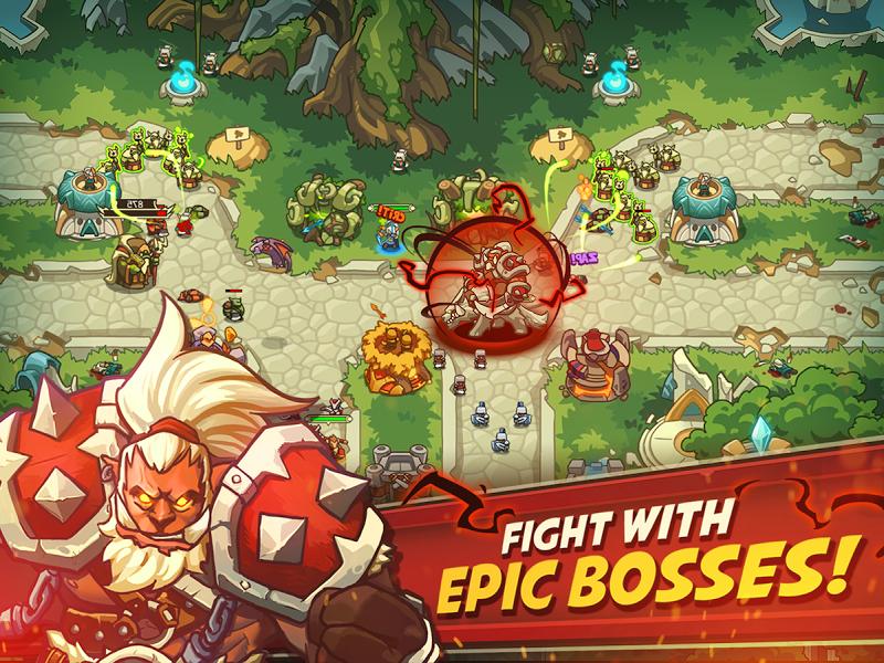Empire Warriors Premium: Tactical TD Game Screenshot 11