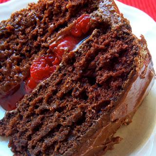 ACW Chocolate Cherry Wine Cake