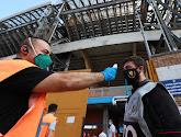 De échte helden letterlijk centraal: zorgpersoneel gelauwerd voor clash tussen Italiaanse grootheden
