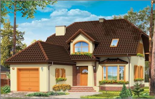 projekt domu Pogodny 4