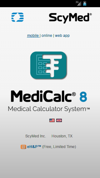MediCalc®- screenshot