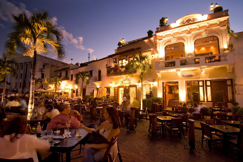 Plaza De España in Santo Domingo, Dominican Republic.