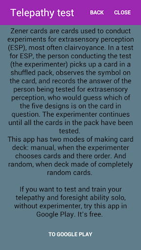 Telepathy test - pro ESP tools by Meditation & Concentration