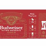Anheuser-Busch Budweiser Nitro Reserve Gold