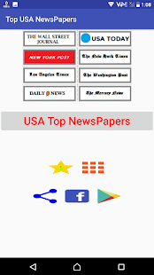 USA Top News Papers - náhled