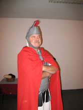 Photo: Fri, Dec 5/08 - high ranking roman officer, Terry Hunter