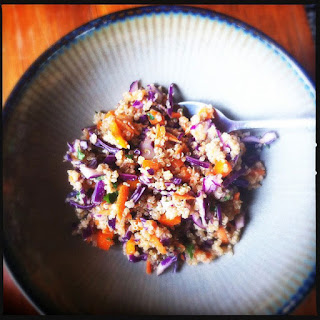 Thai Quinoa Salad with Peanut & Ginger