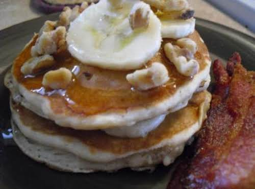 "Pancakes a la Elvis""My son who usually doesn't like pancakes, gobbled these..."