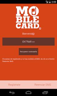 MobileCard - screenshot thumbnail