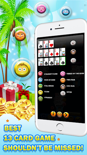 Chinese Poker - Multiplayer Pusoy, Capsa Susun 2.0 7