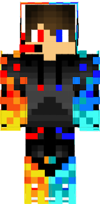 my new skin in minecratf to look cool because my minecraft name has plays in it.