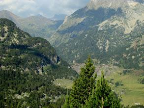 Photo: El valle en fondo.