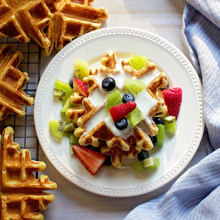 Whole Grain Einkorn Waffles