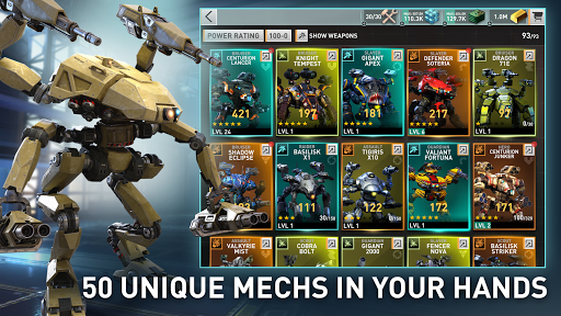 Metalborne: Mech combat of the future 0.150.3.0 androidappsheaven.com 2