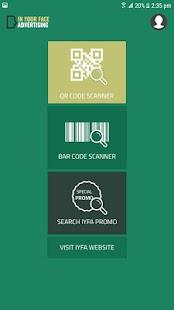 iYFA QR Scanner - náhled