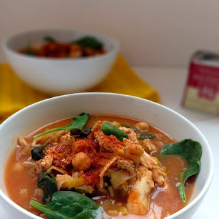 Chickpea, Chorizo, Chicken Soup