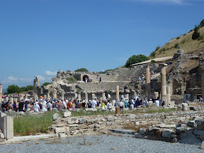 Photo: inside Ephesus