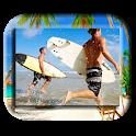 Summer Beach Photo Frame icon