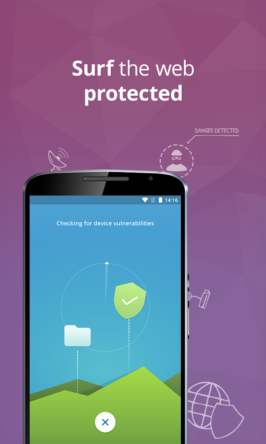 Screenshots of Mobile Security & Antivirus for Android