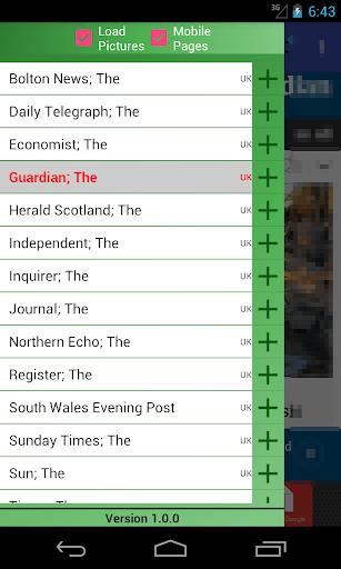 UK Newspapers  screenshots 7