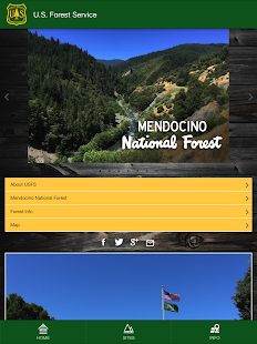 Mendocino National Forest- screenshot thumbnail