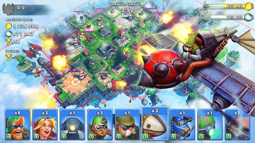 Sky Clash Lords of Clans 3D