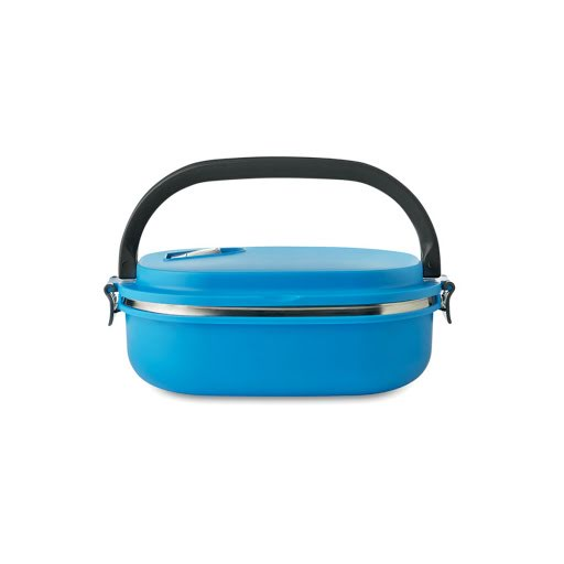Insulated Metal Lunch Box with Handle