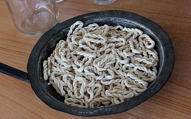 Tipica pasta sarda. di Naldina Fornasari
