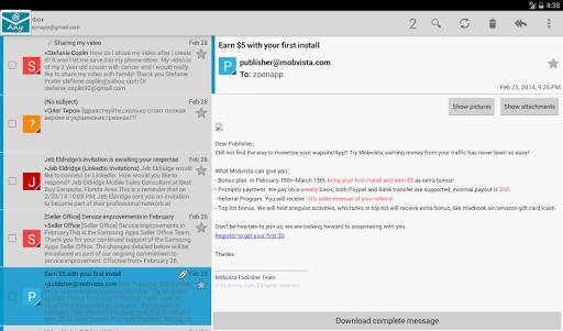 玩通訊App xMail (Email client)免費 APP試玩