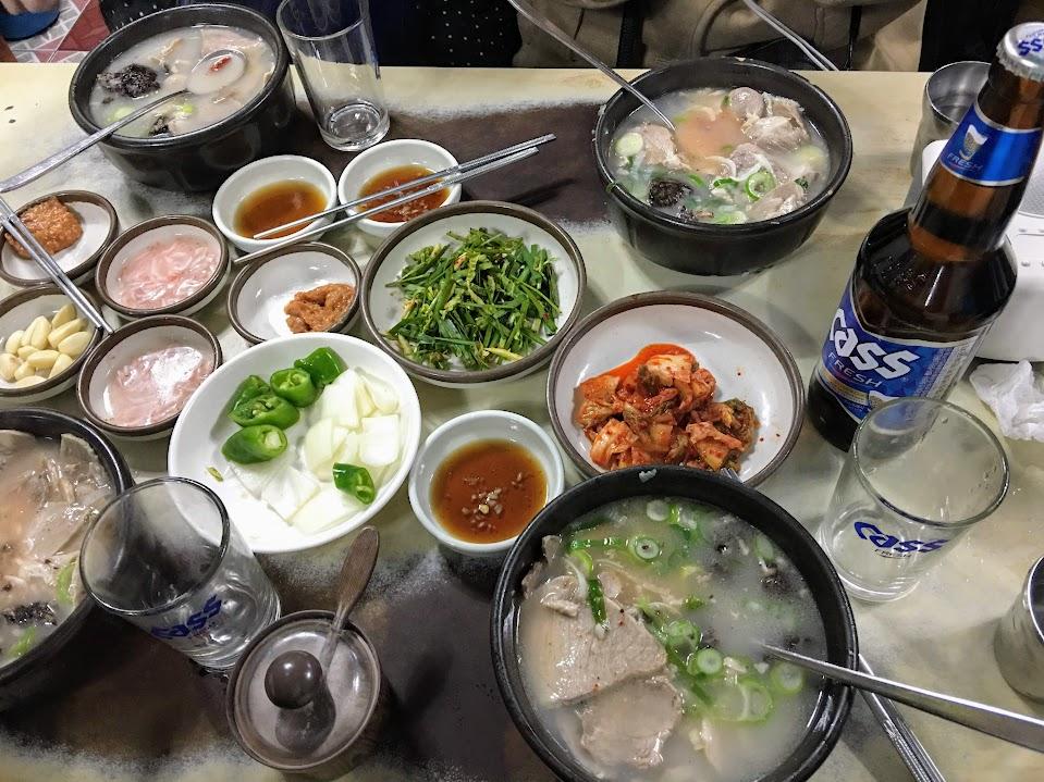 韓國 湯飯