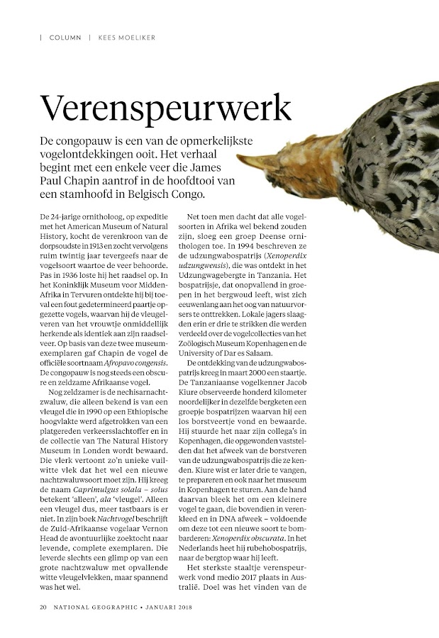 National Geographic Magazine NL- screenshot