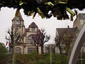 Photo: Alsace is a mixture of French and German influences, as reflected in the architecture.
