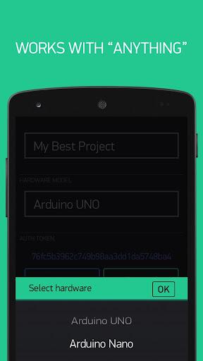 Blynk - IoT for Arduino, ESP8266/32, Raspberry Pi screenshot 3