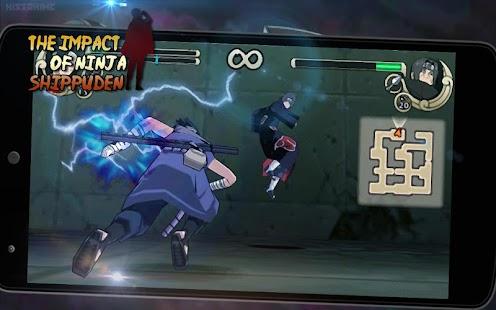 impact of ninja shippuden - náhled