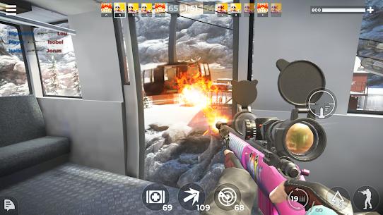 AWP Mode: Elite online 3D sniper action MOD APK (Unlimited Money) 5