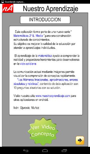 Nu00fameros Irracionales Aproximar 1.0.0 screenshots 10