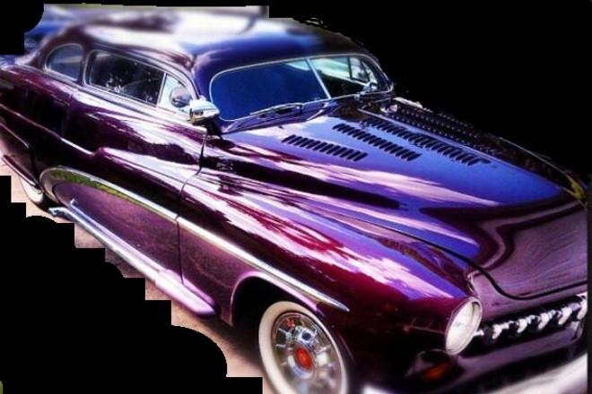 1949 Mercury Chop Top Custom  Purple Beauty Hire FL 33161