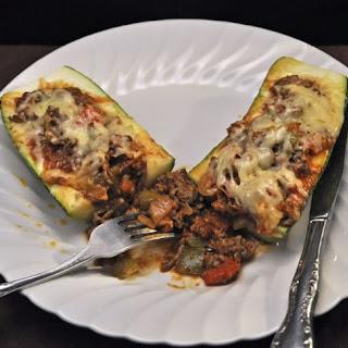 Stuffed Zucchini, Taco Style