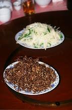Photo: 03411 二連/市街/レストラン料理