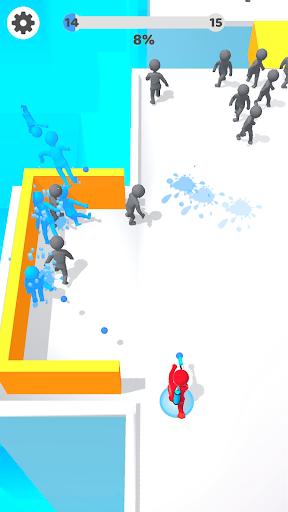 Paintman 3D - Color shooter 1.5 screenshots 1