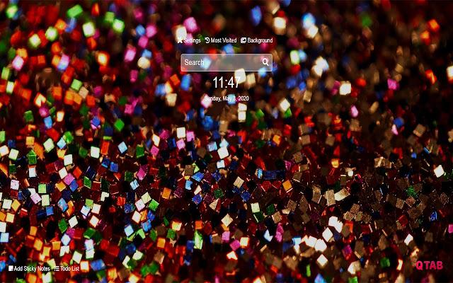 Glitter Wallpapers Glitter New Tab HD