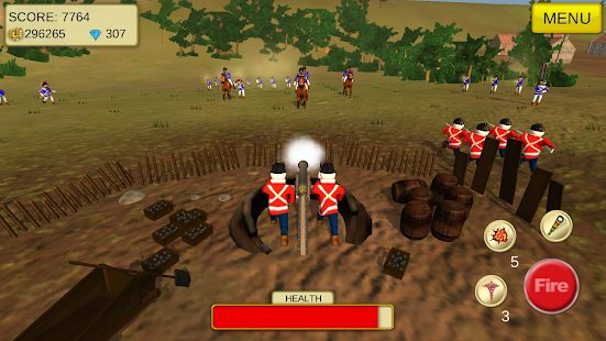 1815 Cannon Shooter Waterloo- screenshot thumbnail