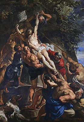 Photo: The Elevation of the Cross, c.1610/11
