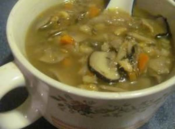 Mushroom-barley Soup Recipe