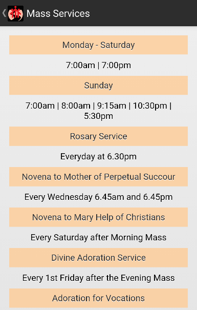 St John Bosco Church- screenshot