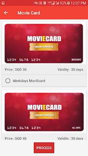 Carnival Cinemas Singapore- screenshot thumbnail