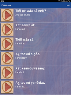 Learning Tlingit- screenshot thumbnail