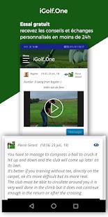 Download iGolf.One - Analyse de votre Swing par un Pro For PC Windows and Mac apk screenshot 2