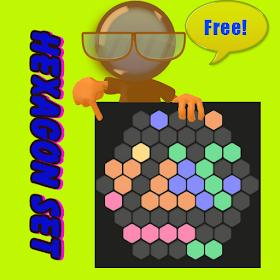 Hexagon Set Game