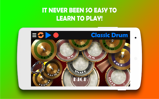 Classic Drum - The best way to learn drums! 6.7 Screenshots 2
